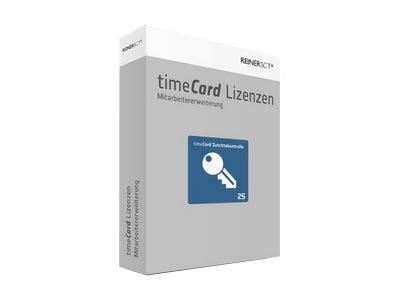TIMECARD Zutrittskontrolle Erweiterung 25 Mitarbeiter