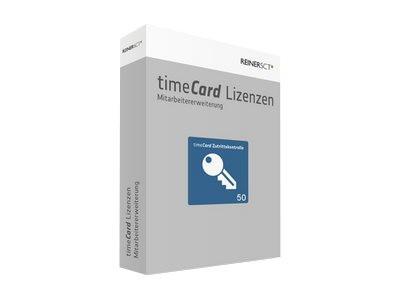 TIMECARD Zutrittskontrolle Erweiterung 50 Mitarbeiter